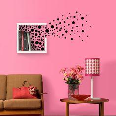 Bubbles Wall Shelf