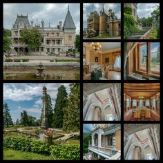 "The Massandra Palace ~ once owned by Tsar Alexander III of Russia and passed down to his son Tsar Nicholas ll of Russia.The Palace has been visited by the Romanovs,but none has ever slept in the Palace. ""AL"""