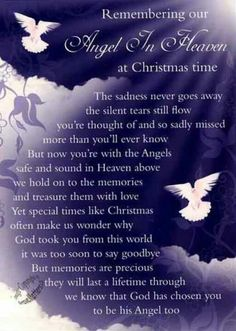 For our Angel Timothy in heaven!