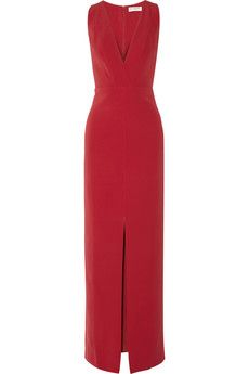 Balenciaga Stretch-silk gown | NET-A-PORTER