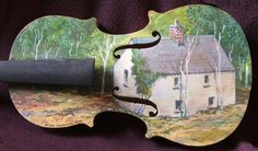 Instrumental Art violin created  by Brian Gallagher for the Musical Youth Foundation