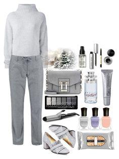 """Winter Mist"" by cultuerd-stylish ❤ liked on Polyvore featuring Le Kasha, Icebreaker, Steve Madden, Proenza Schouler, Deborah Lippmann, Bobbi Brown Cosmetics, Cartier, BaByliss, grey and WinterChic"
