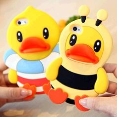 Hey my phone case is a duck