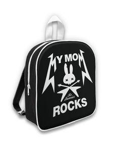 Six Bunnies Back Pack My Mom Rock Oldschool,Tattoo,Biker,Pin up,Custom Styles