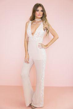 Olivia Embroidery Jumpsuit – Haute & Rebellious