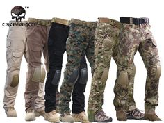 Tactical Pants with Knee Pads, Emerson Gen2 Camping Hiking Hunting Trousers CP   Clothing, Shoes & Accessories, Men's Clothing, Pants   eBay!