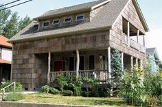 Turn Heads with Natural Bark Shingles