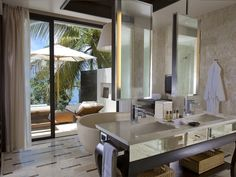 Swim in the fresh water, eat above the azure sea and sleep in the sound of the waves – The Conrad Koh Samui is surrounded by the Gulf of #Thailand.