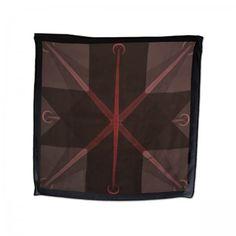 Toronto Silk scarf (100%silk, georgette)  TORONTO print made in Italy