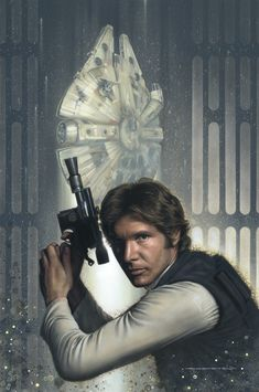Han Solo by jerry Vanderstelt of Vanderstelt Studio
