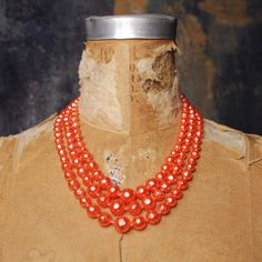 Pauline Pearl Necklace Pink now featured on Fab.