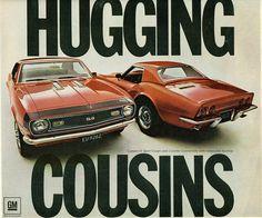 1968 Chevrolet Camaro & Corvette Convertible