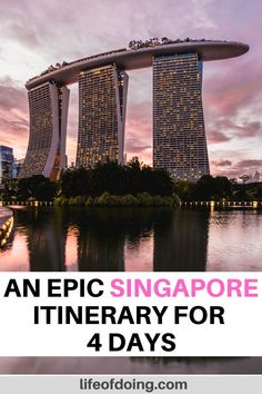 Here is the best 4 days in Singapore itinerary. Singapore in 4 days Singapore Things To Do, Singapore Travel Tips, Singapore Itinerary, Singapore Photos, Singapore Singapore, Singapore Holidays, Singapore Attractions, Places To Travel, Travel Destinations