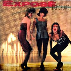 """""""Exposure"""" is the debut album by the Miami-based, Latin freestyle, dance-pop trio Exposé. It reached number 16 on the Billboard 200 and was certified 2x platinum by the RIAA. The album features four top-ten singles on the Billboard Hot 100, including """"Seasons Change"""", which topped the chart in 1988. (Vinyl LP)"""