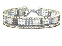 Moonstone & Agate Bracelet