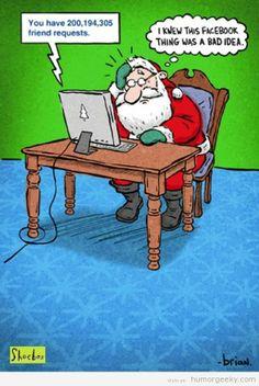 El perfil de Facebook de Santa Claus