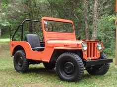 Willys CJ-3A - Photo submitted by Rick Myers.