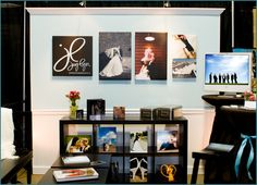 bridal show photo booth idea