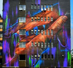 New mural by #adnate in #Johannesburg #SouthAfrica for #cityofgoldfestival #streetart #art #contemporaryart