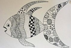 Deep Space Sparkle  Line Drawing Art Lessons  4th grade