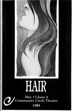 #Hair #CircleTheatre 1989