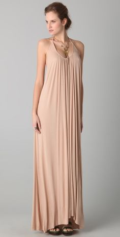 The Sela Dress by Rachel Pally-- All I would need is an Olive branch wreath and i i think Id feel like a greek godess