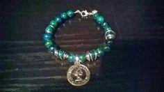 .bracelet stone malahit
