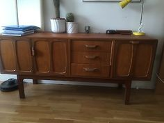 #Original 70's vintage #retro teak danish style #sideboard by g plan ,  View more on the LINK: http://www.zeppy.io/product/gb/2/222280522364/