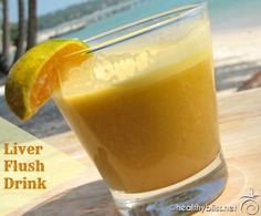 Liver Flush Daily Detox Drink - Recipe for a Daily Liver Cleanse | Jennifer Thompson