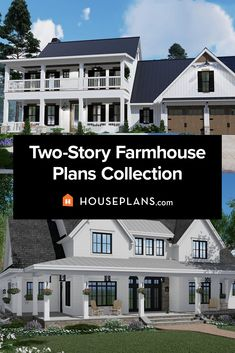Explore our collection of 2 story modern farmhouse plans. Click the image to explore the collection. Questions? Call 1-800-913-2350 today. #blog #architecture #modern #modernhouseplans #shedhome #shedroof Farmhouse Floor Plans, Country House Plans, Modern House Plans, Modern Farmhouse Kitchens, Farmhouse Homes, Farmhouse Decor, Shed Homes, Cozy Living Rooms, Plan Design