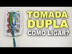 Como ligar tomada dupla! Montagem correta! - YouTube Home Electrical Wiring, Electrical Installation, Electrical Connection, Home Gadgets, Architecture Details, Lights, Youtube, Construction, Tips