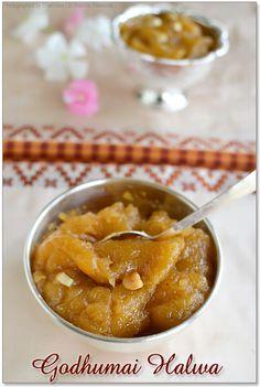 Godhumai Halwa - Traditional taste of Wheat halwa in a easier way!