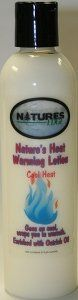 Natures Heat Warming Lotion -- You can find more details by visiting the image link. (This is an affiliate link and I receive a commission for the sales)
