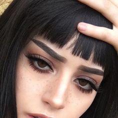 aesthetic makeup eyebrows New Ideas For Makeup - aestheticmakeup Edgy Makeup, Makeup Goals, Makeup Inspo, Makeup Art, Makeup Inspiration, Hair Makeup, Grunge Eye Makeup, Grunge Makeup Tutorial, Makeup Ideas