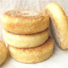 Baked, not fried: English muffins without the griddle | King Arthur Flour – Baking Banter