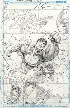 Superman Unchained #6 page 4 by Jim Lee