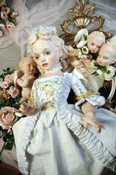 Creepy doll Marie antoinette?