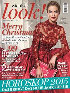 look! - das Magazin für Wien Advent, Beauty, Formal Dresses, Magazines, Cover, Fashion, Simple, Dresses For Formal, Journals