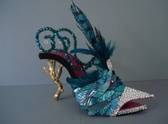 Pagan Shoes Wicca Witch:  Faery #shoe.