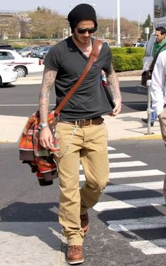 Free To Be Punk: Style Icon : David Beckham