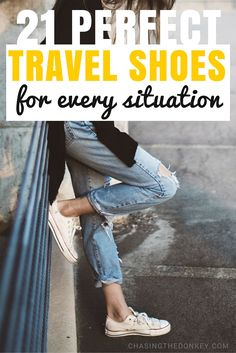 This guide is about what shoes for travel are best.