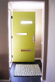 yellow door /mcm/ mid century look-glass