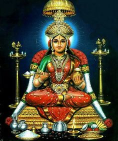 Goddess Annapurna homam dismisses the six obstacles of devotion. Tanjore Painting, Ganesha Painting, Ganesha Art, Hindu Statues, Buddha Buddhism, Mother Goddess, Goddess Lakshmi, Shiva Shakti, Hindu Deities