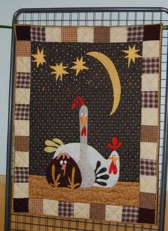 Country Quilts..need to do this for The Red Rooster!!