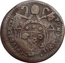 1787 Italy ITALIAN Papal STATES Pope Pius VI Quattrino Antique Coin i56142 https://trustedmedievalcoins.wordpress.com/2016/06/06/1787-italy-italian-papal-states-pope-pius-vi-quattrino-antique-coin-i56142/
