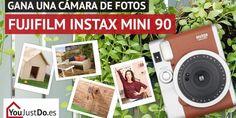 Sorteo de una cámara de fotos Fujifilm Instax Mini 90 de YouJustDo.es #sorteo #concurso http://sorteosconcursos.es/2017/08/sorteo-una-camara-fotos-fujifilm-instax-mini-90/