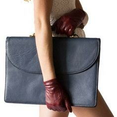 The Evelyn Gloves...ready to jet-set to a power meeting!