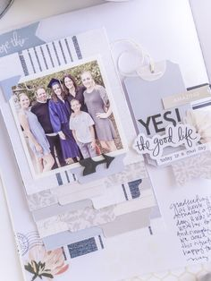 Scrapbook Journal, Scrapbook Layouts, Scrapbooking, How To Make Photo, Journal Pages, Journals, Image Layout, Heidi Swapp, We R Memory Keepers