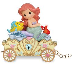 Ariel ''Make a Splash on Your Birthday'' Fourth Birthday Figurine by Precious Moments ...Collect all the birthday princesses.