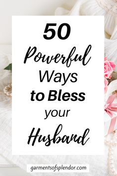 Looking for ways to bless your husband? Take a look at these 50 ways you can love your husband according to the popular five love languages. Take a look at how you can honor God by loving your husband, even when he doesn't deserve it! #christianmarriage #marriage #fivelovelanguages #blesshusband Marriage Help, Biblical Marriage, Marriage Prayer, Healthy Marriage, Marriage Relationship, Marriage Advice, Relationships, Christian Wife, Christian Marriage